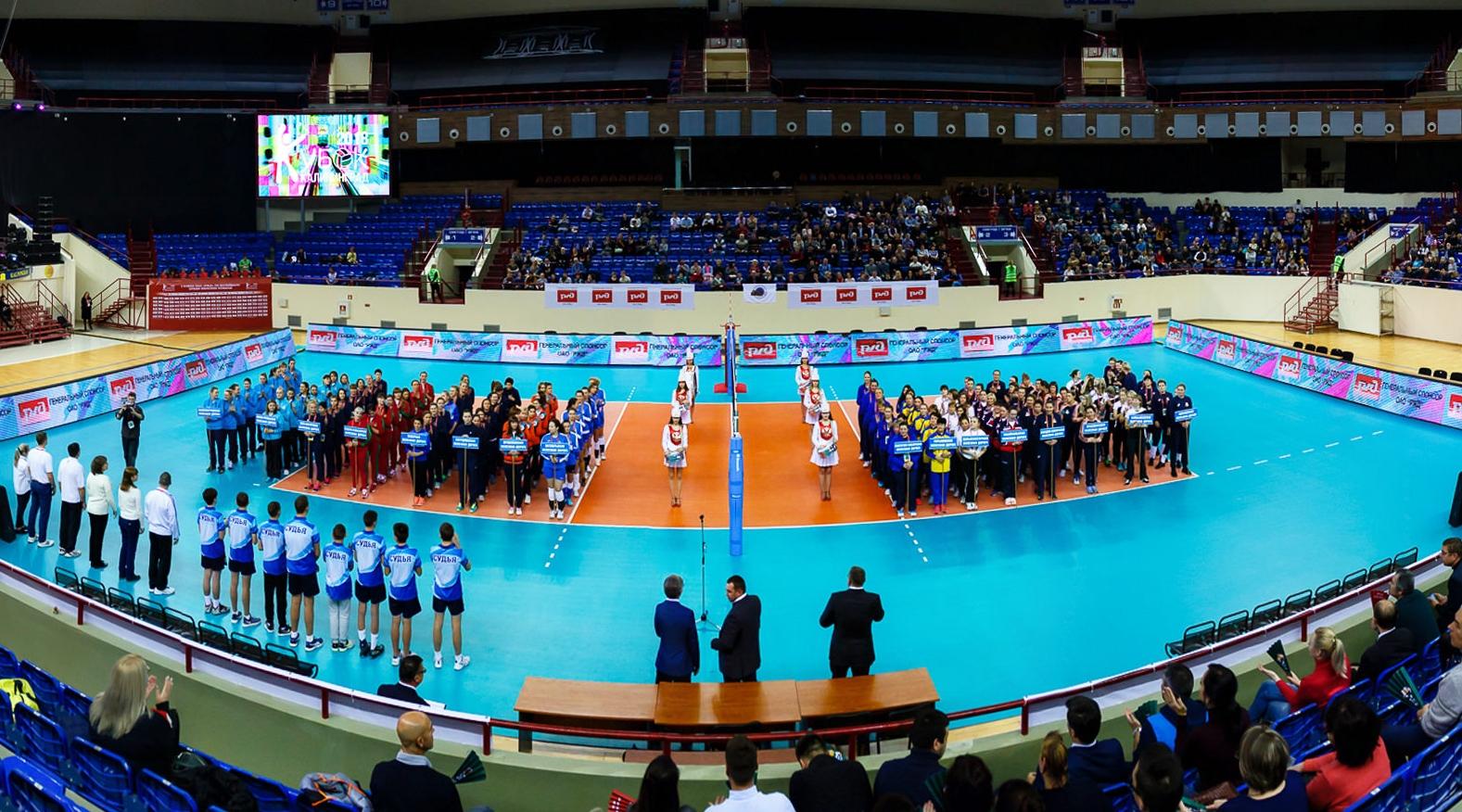 Кубок РЖД по волейболу в Калининграде
