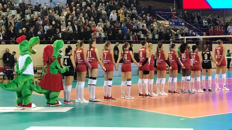 3 тур Чемпионата России по волейболу в Калининграде