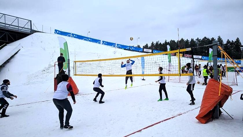 снежный волейбол литва калининград