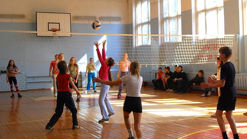 школьный волейбол пионербол в калининграде