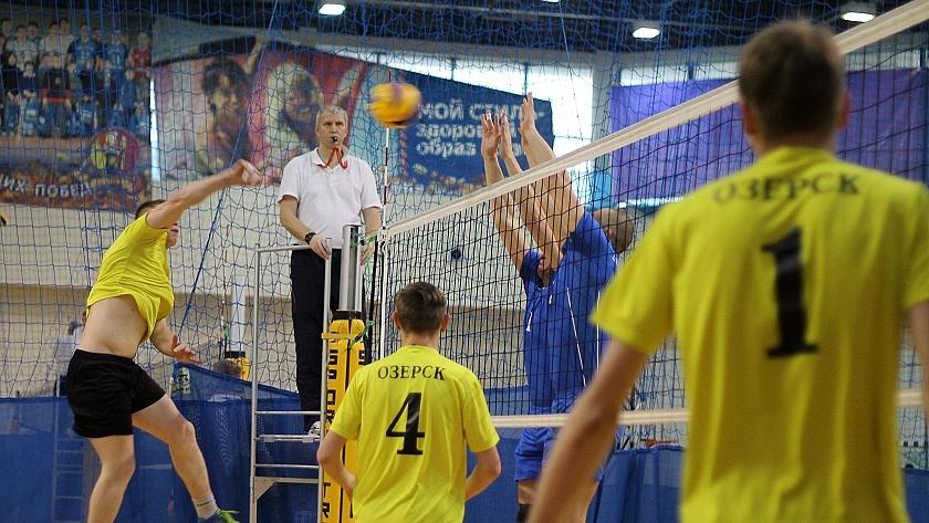 спартакиада мо по волейболу калининград