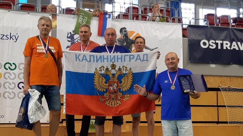 ветеранский волейбол калининград