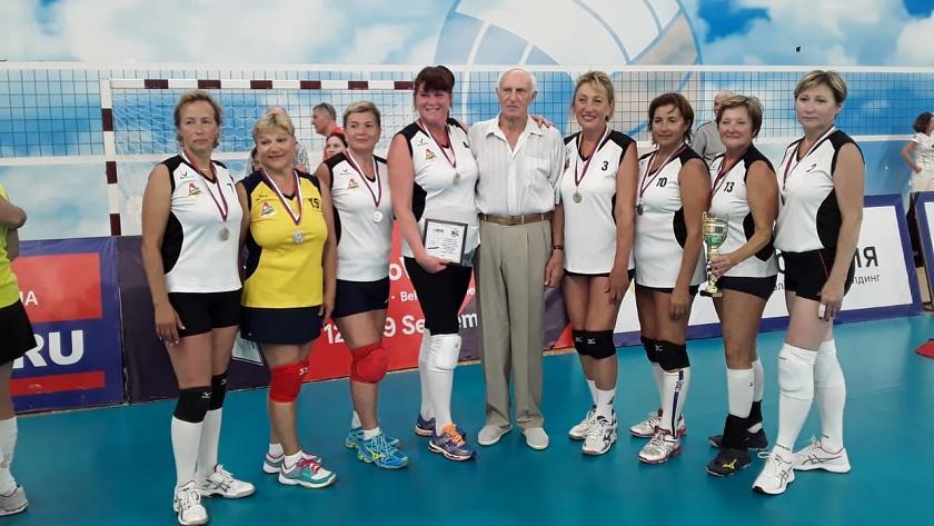 ветераны волейбол локомотив калининград