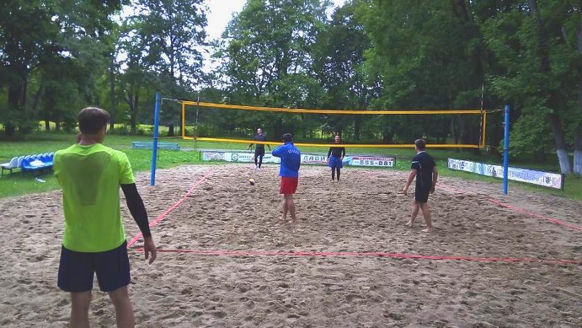 парковый волейбол федерация калининграда