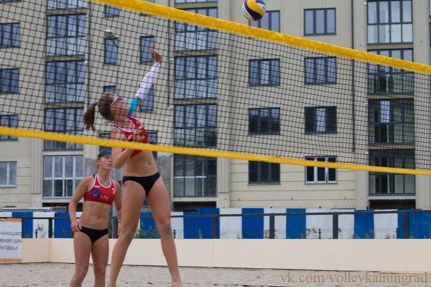 пляжный волейбол калининград зеленоградск