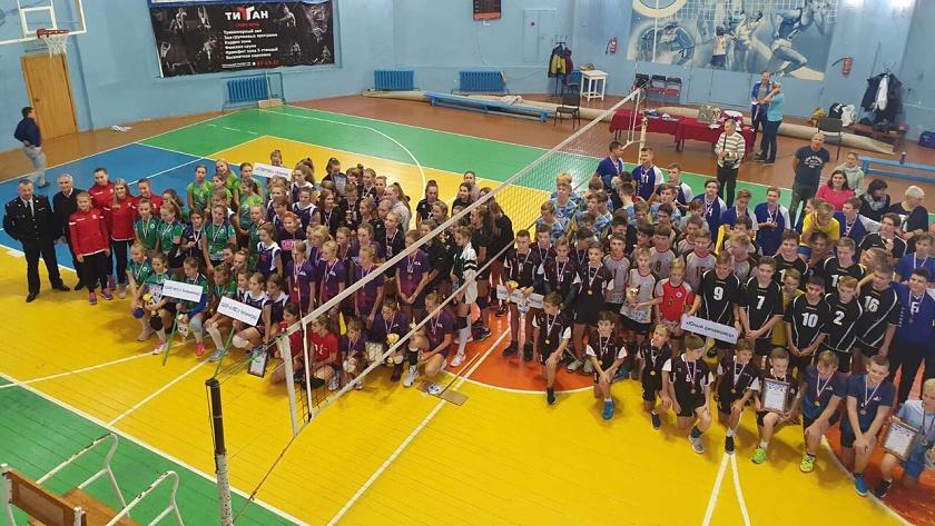 волейбол для детей в калининграде