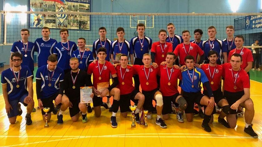 студенческий волейбол калининград