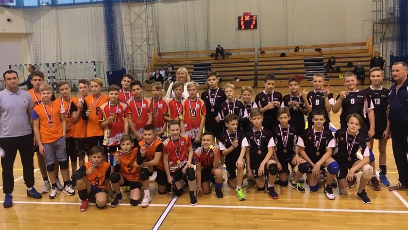 первенство по волейболу калининград