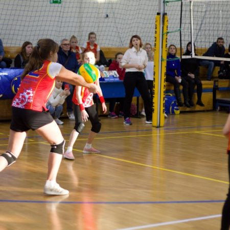 детский турнир по волейболу