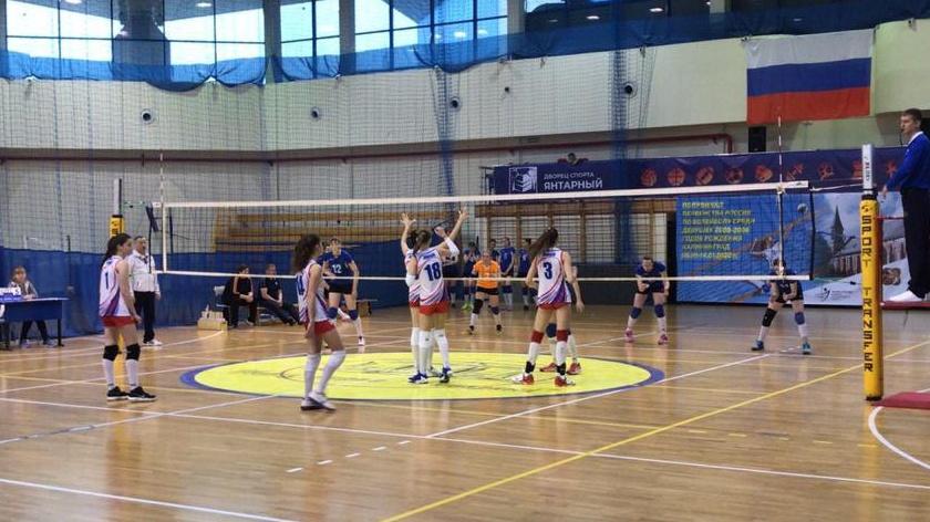 первенство россии волейбол калининград